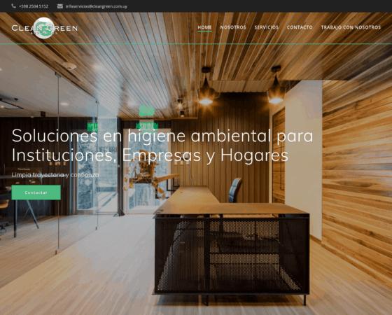 Clean Green – Sitio Web